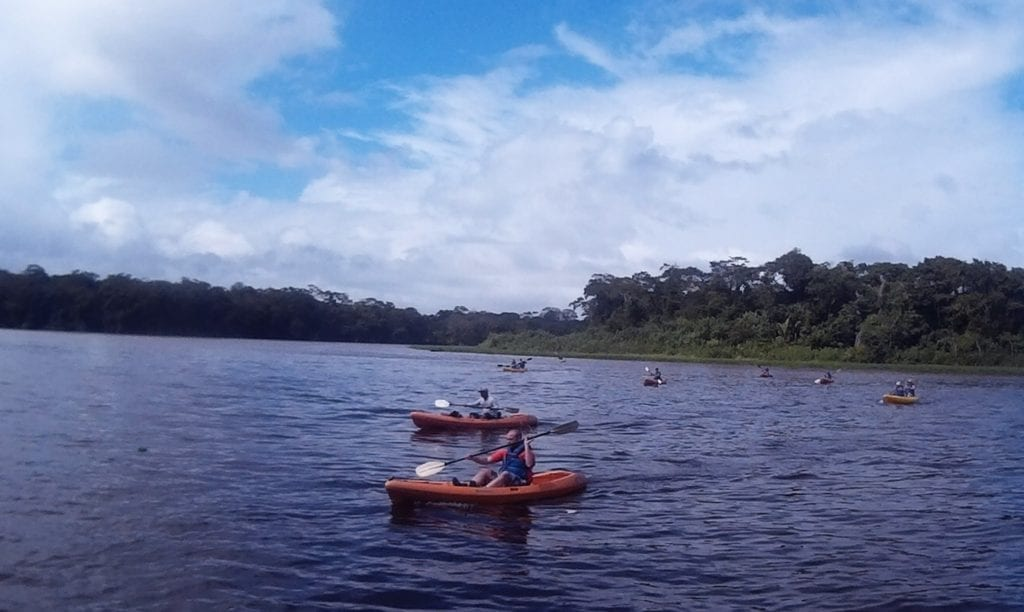 Top adventurous things to do in Costa Rica - kayaking on the open river