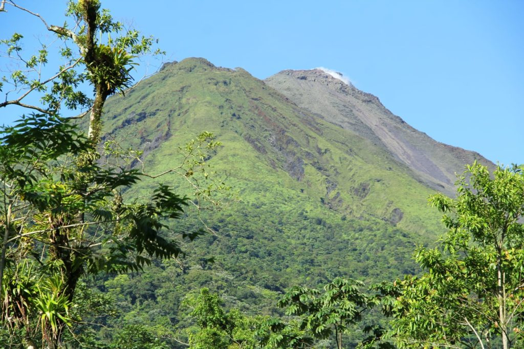 Costa Rica Itinerary - one of the best things to do in Arenal Costa rica is hike arenal volcano