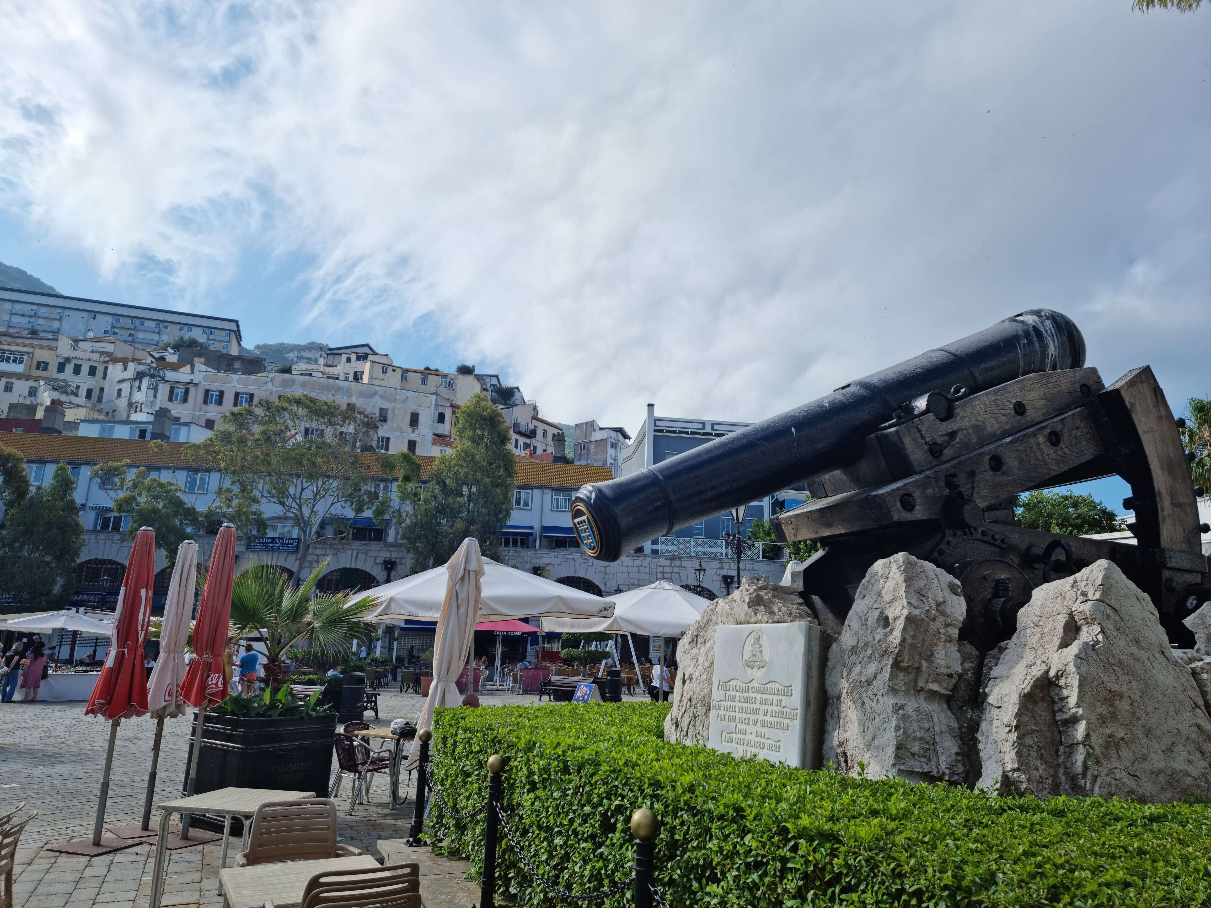 Things to do in Gibraltar - Casemates Square Canon