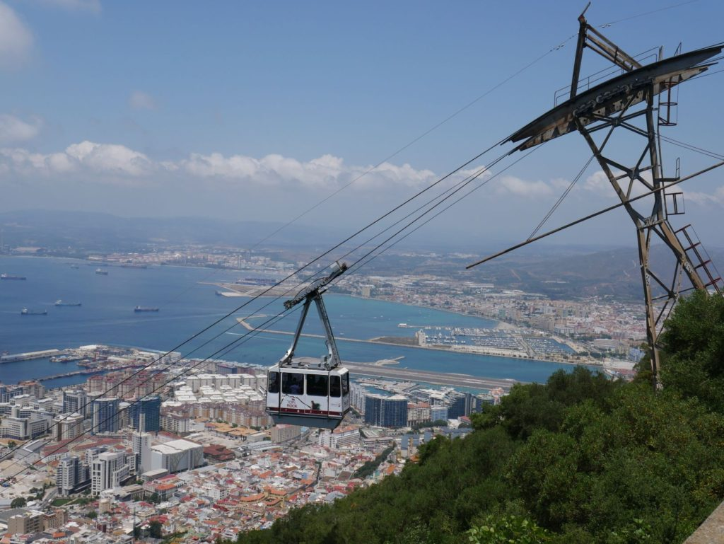Things to do in Gibraltar - Cable Car from the top of the rock