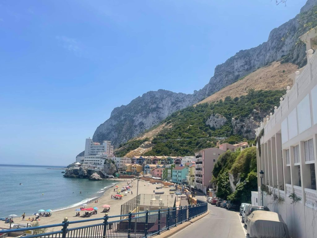 Things to do in Gibraltar - Catalan Bay Beach